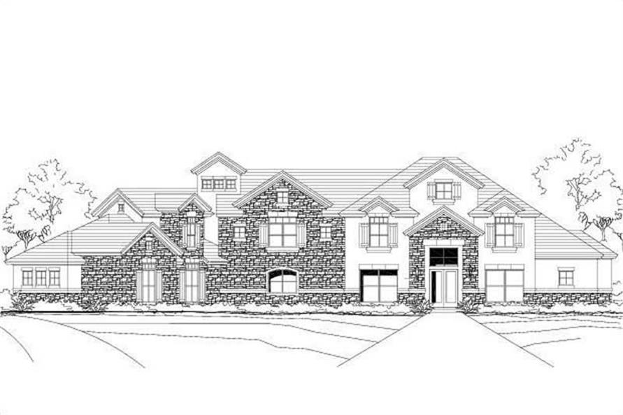 Main image for luxury house plan # 19218