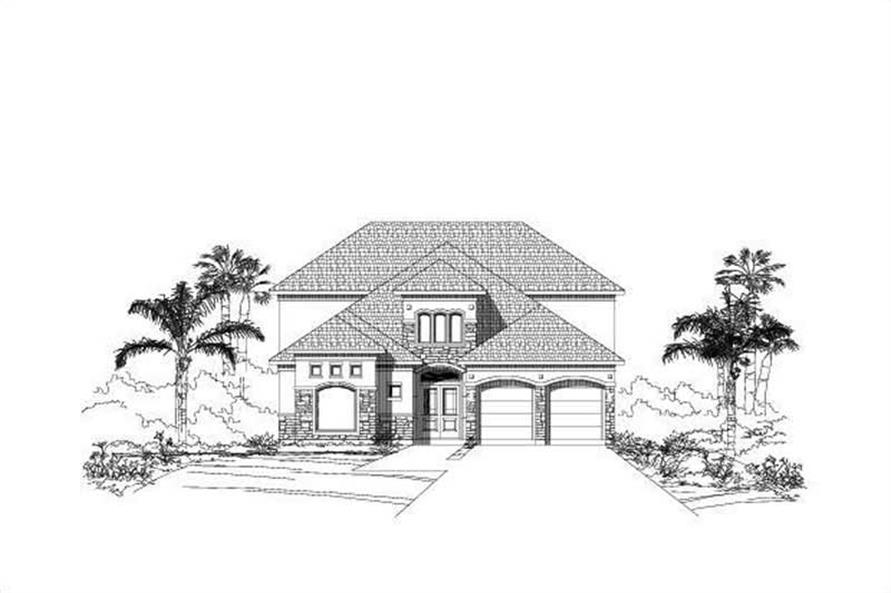 Main image for house plan # 18683