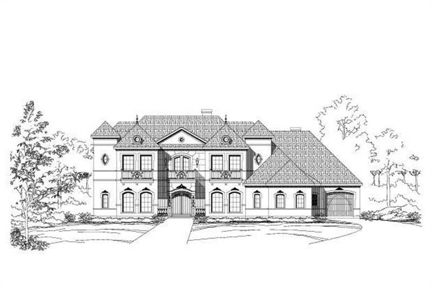 Main image for luxury house plan # 19044