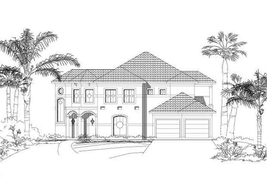 Main image for house plan # 19130