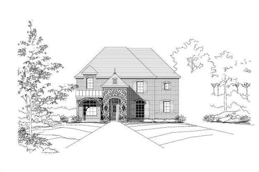 Main image for house plan # 19008
