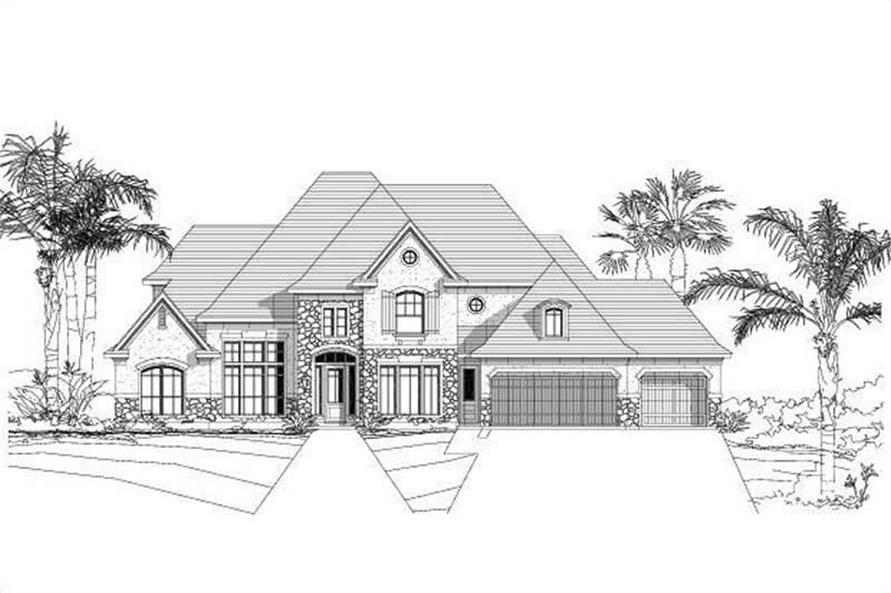 Main image for house plan # 19203