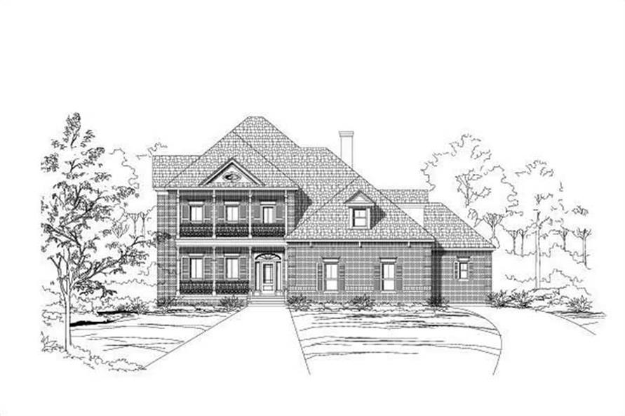 Main image for house plan # 18737