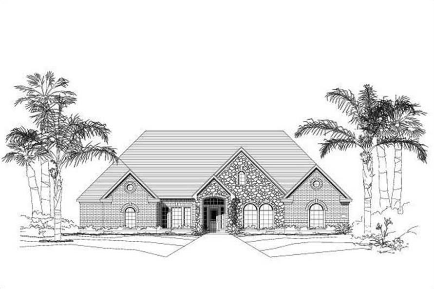 Main image for house plan # 18731