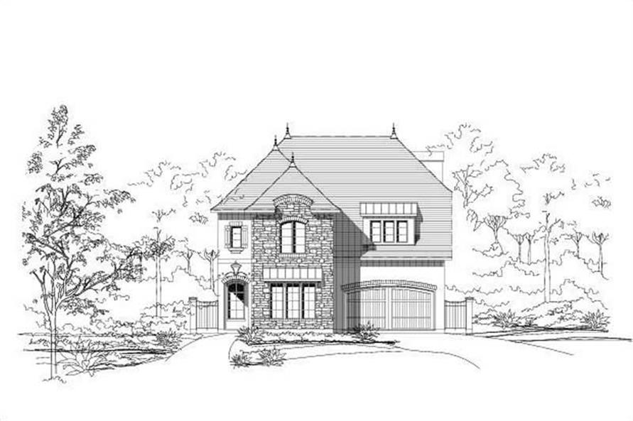 Main image for house plan # 18715