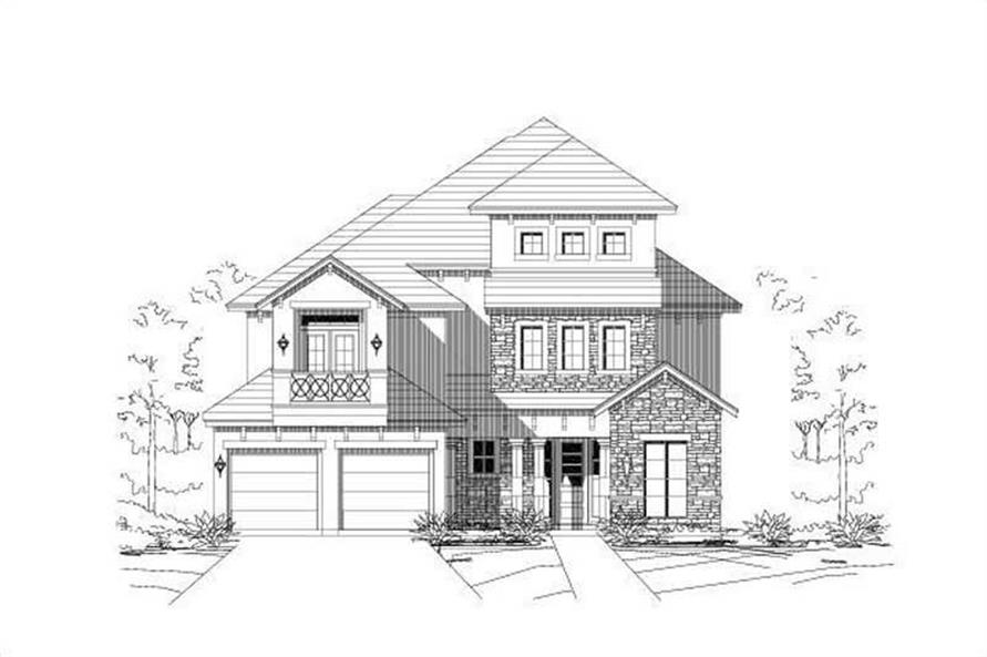 Main image for house plan # 18689