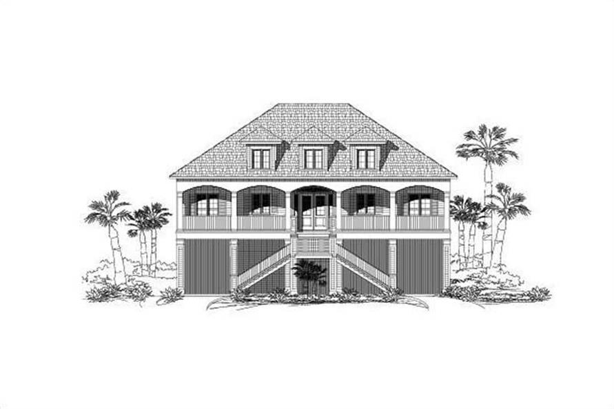 Main image for house plan # 18680