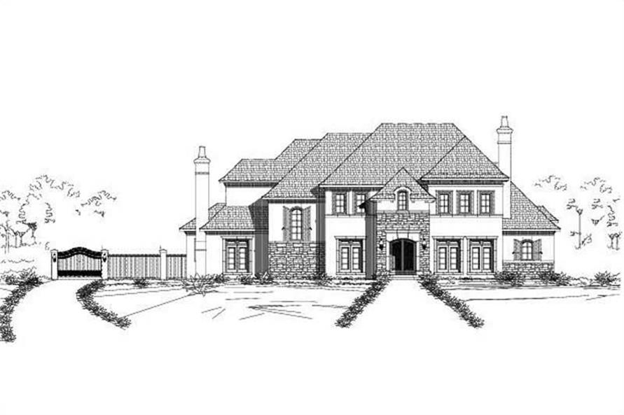 Main image for house plan # 18688