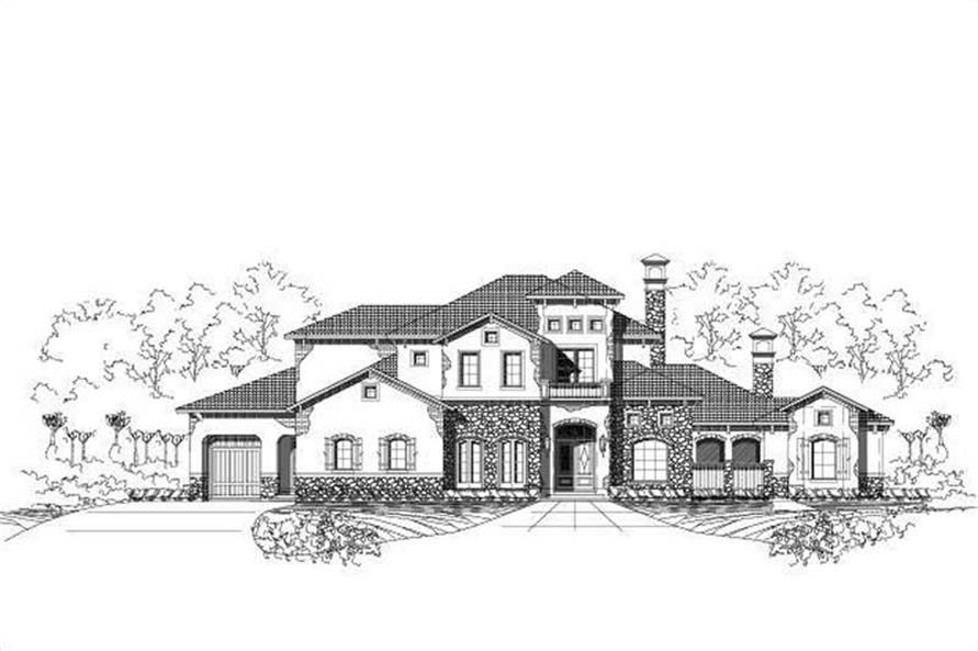 Main image for luxury house plan # 18714
