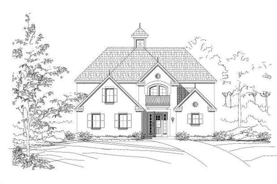 Main image for house plan # 19119
