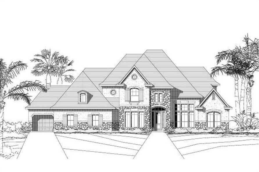 Main image for house plan # 19019