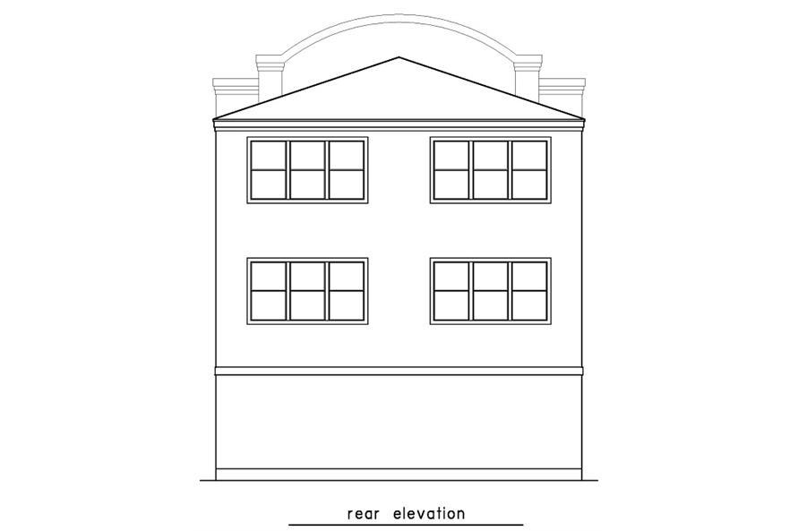 156-1599 rear elevation
