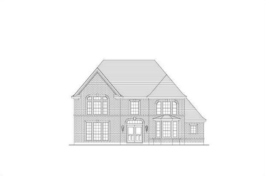 Main image for house plan # 19342