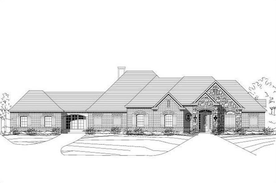 Main image for house plan # 18739