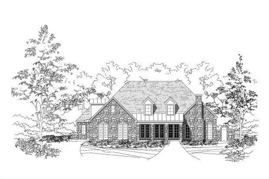 Main image for house plan # 18740