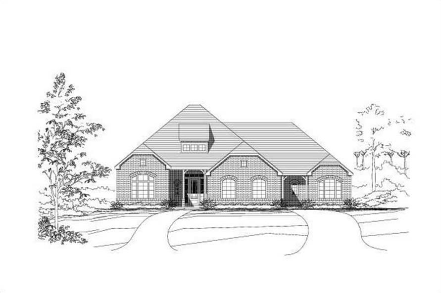 Main image for house plan # 18735