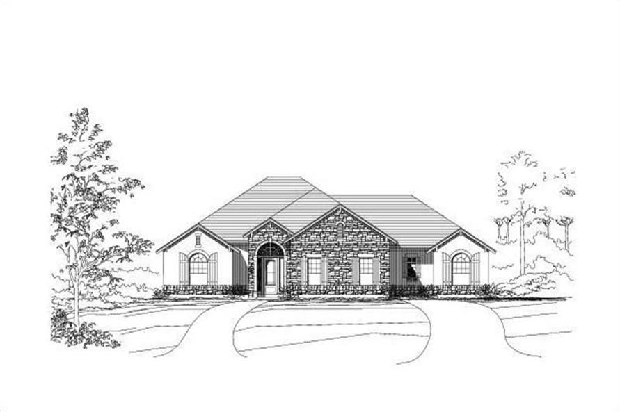 Main image for house plan # 18736
