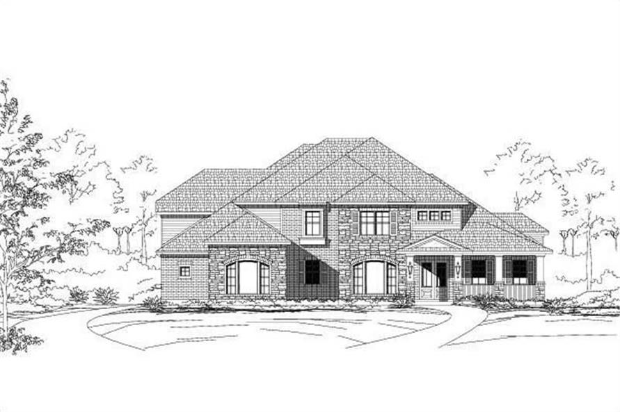 Main image for house plan # 19303