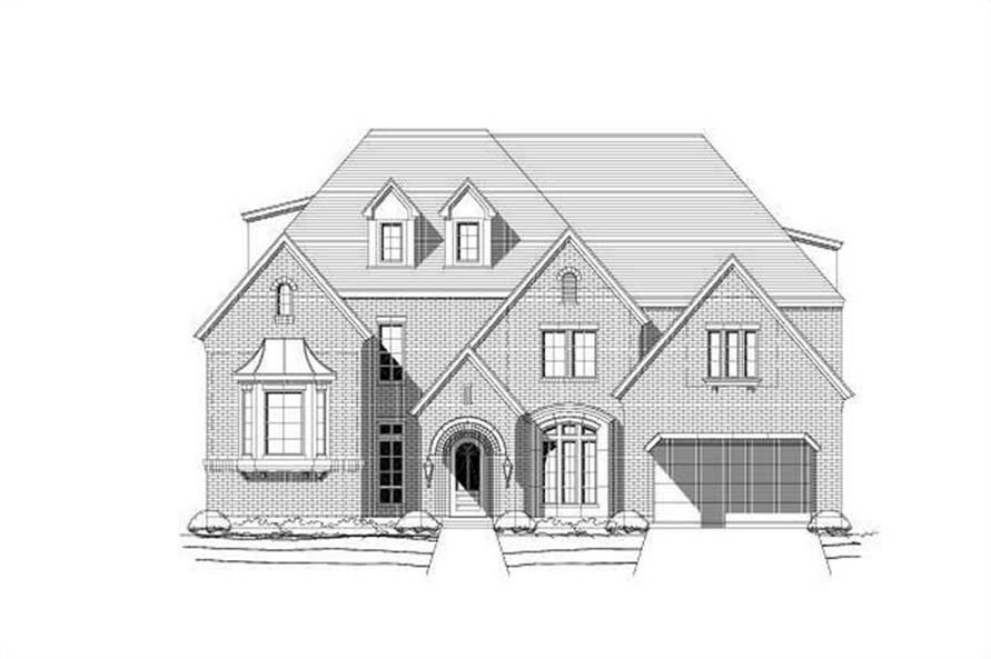 Main image for luxury house plan # 19308