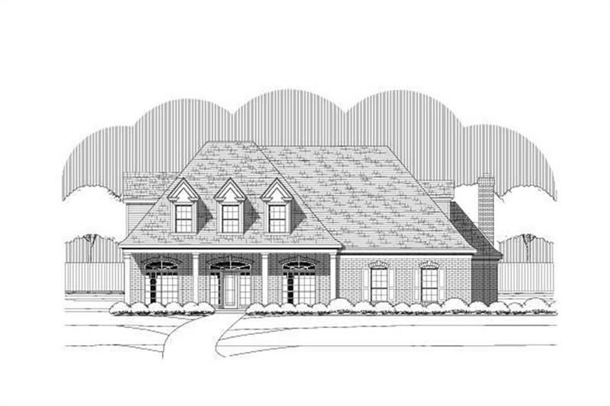 Main image for house plan # 19357