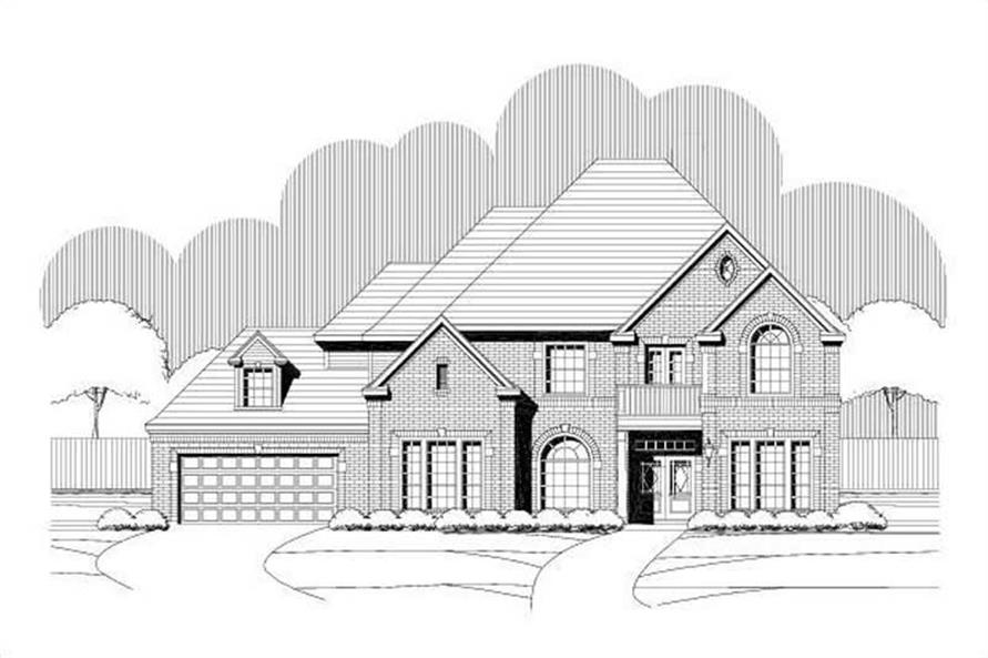 Main image for house plan # 19395