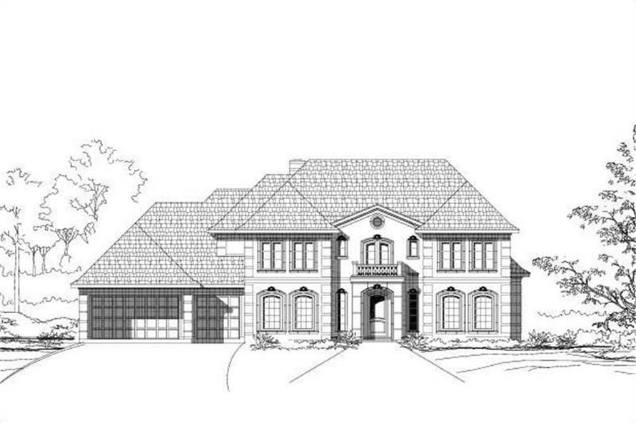 Main image for house plan # 19426