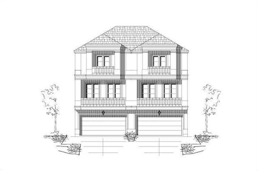 Main image for house plan # 19483