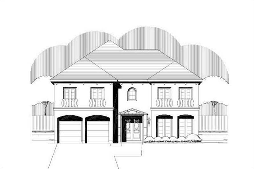 Main image for house plan # 19388