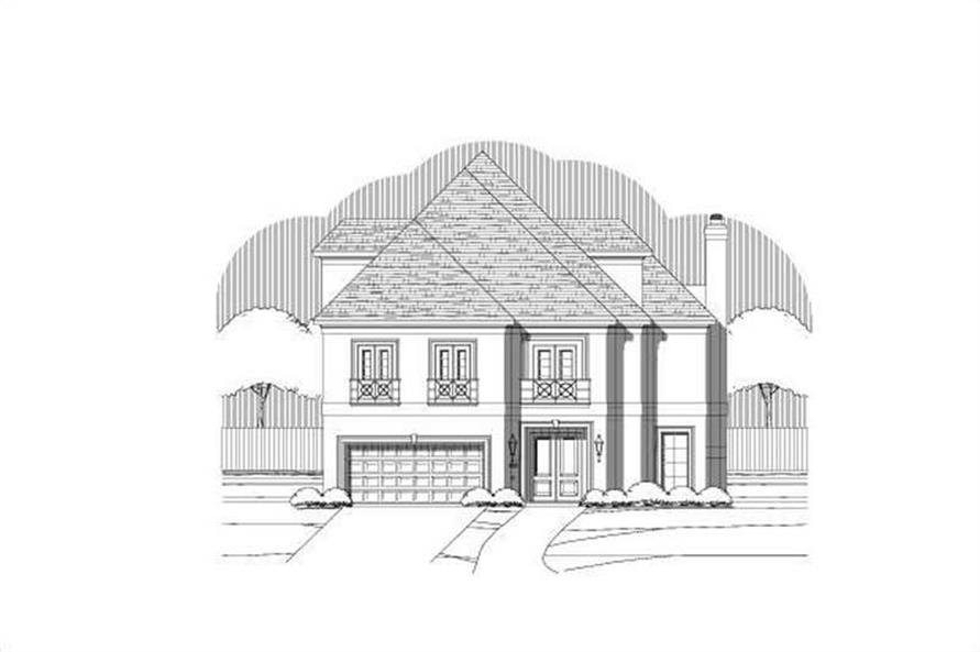 Main image for house plan # 19381