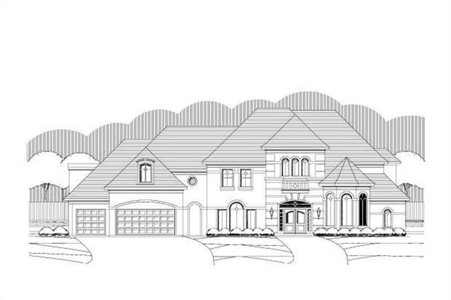 Main image for luxury house plan # 19396