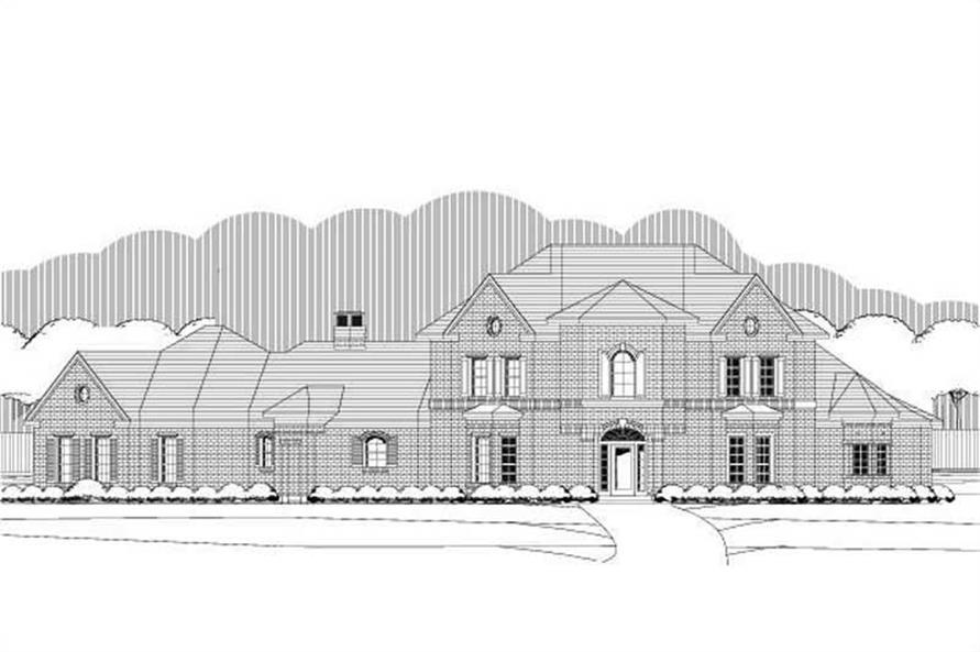 Main image for house plan # 19399
