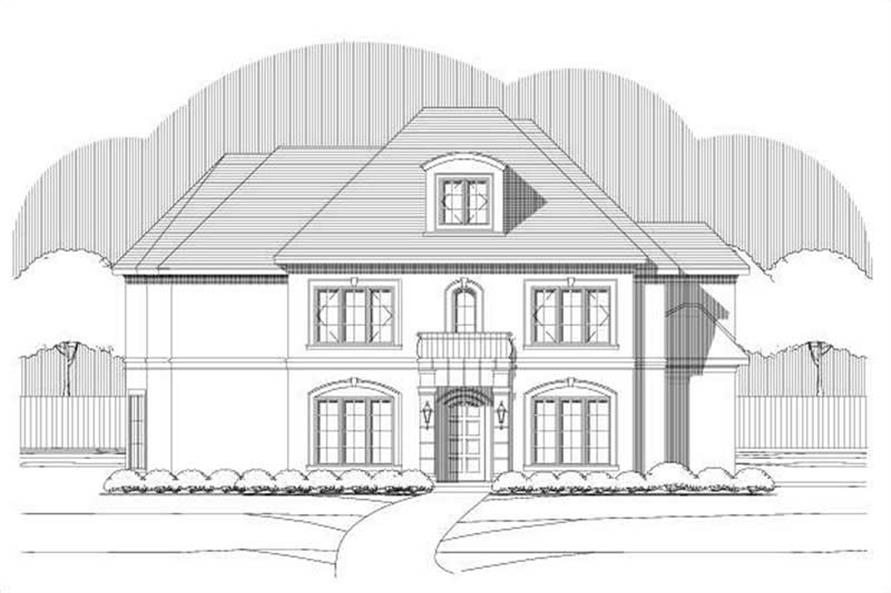 Main image for house plan # 19404