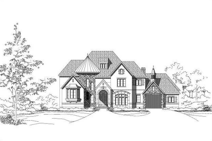 Main image for luxury house plan # 19286
