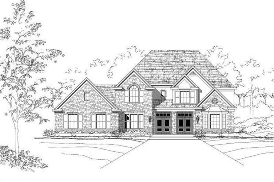 Main image for house plan # 19406