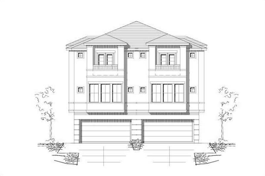 Main image for house plan # 19471