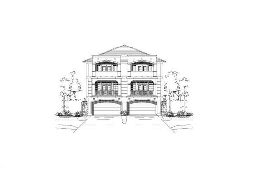 Main image for house plan # 19473
