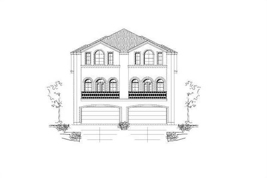 Main image for house plan # 19478