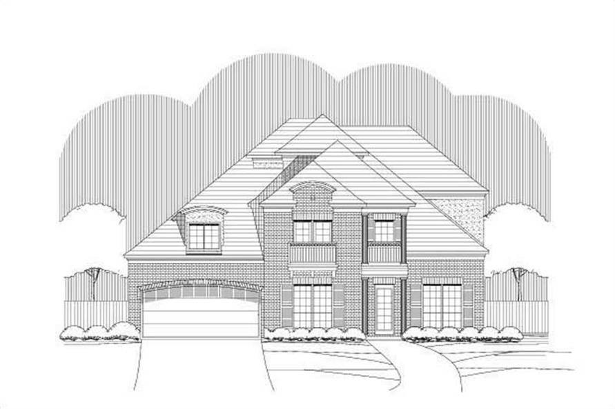 Main image for house plan # 19371
