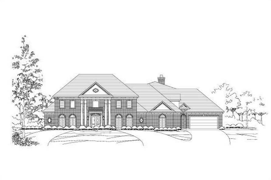 Main image for house plan # 19295