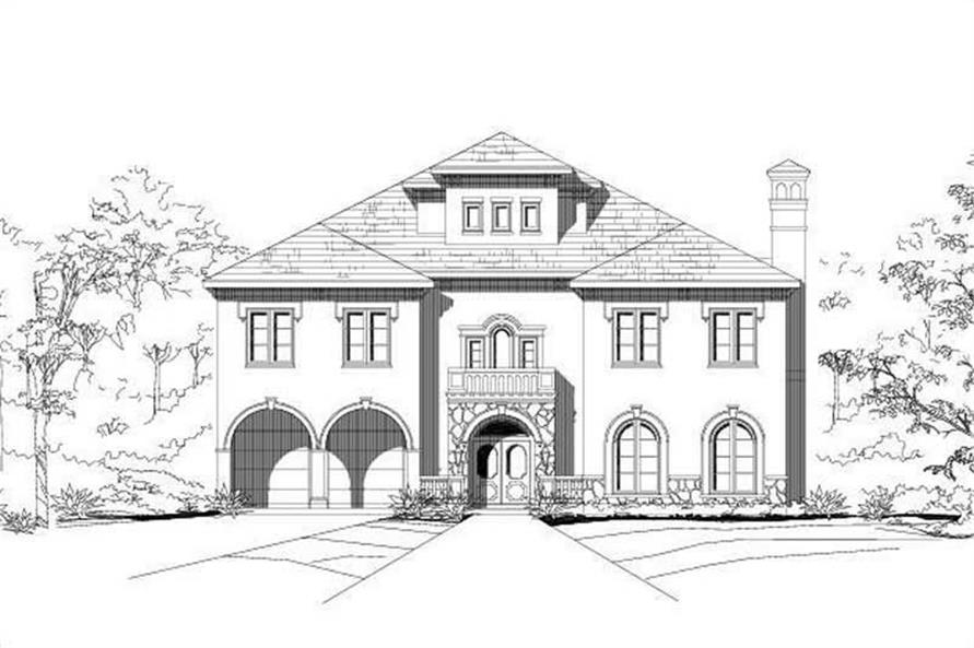 Main image for house plan # 19339