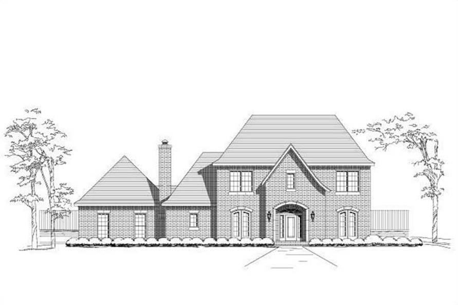 Main image for house plan # 19346