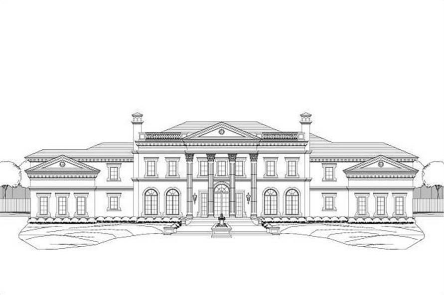Main image for house plan # 19448