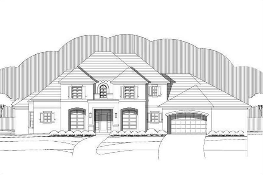 Main image for house plan # 19361