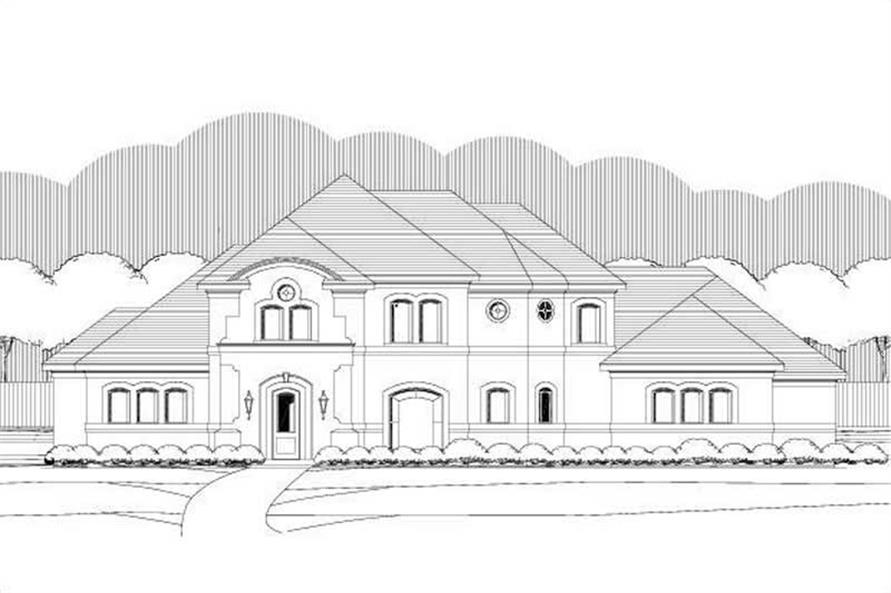 Main image for house plan # 19397