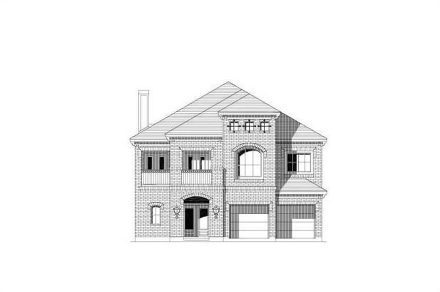 Main image for house plan # 19400