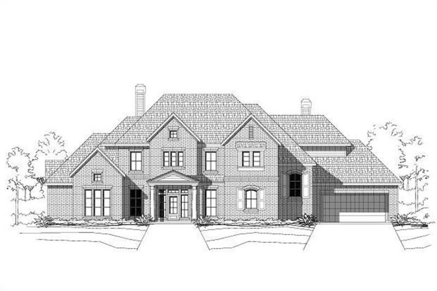 Main image for house plan # 19403