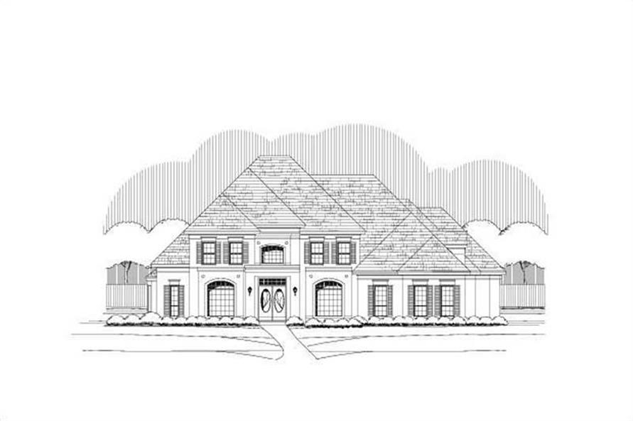 Main image for luxury house plan # 19428