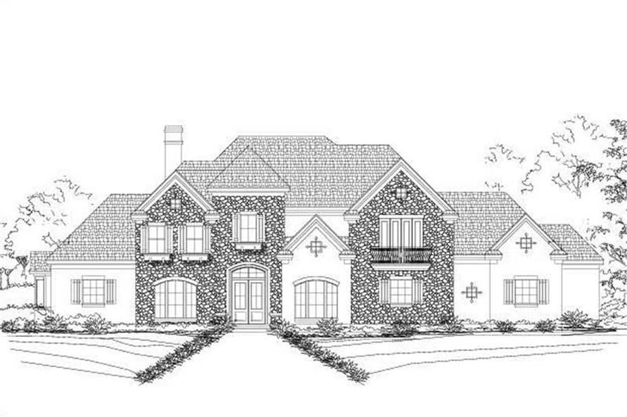 Main image for luxury house plan # 19253