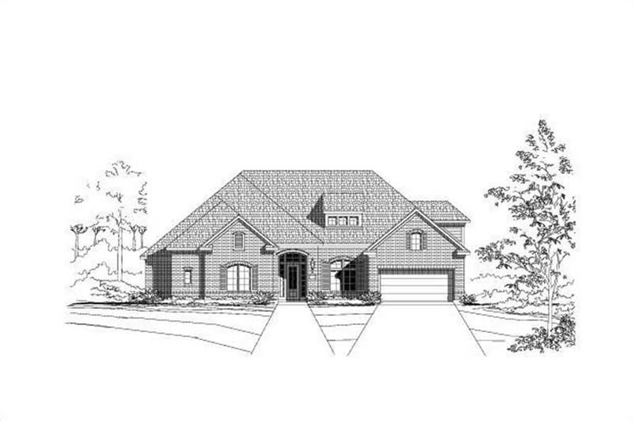 Main image for house plan # 19264