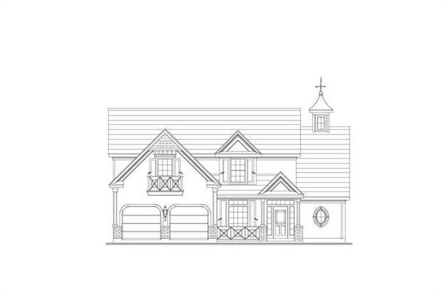 Main image for house plan # 19376